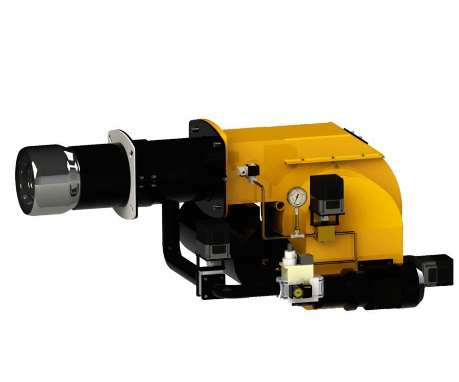 Gas /Heavy oil modulation  Monobloc Burner