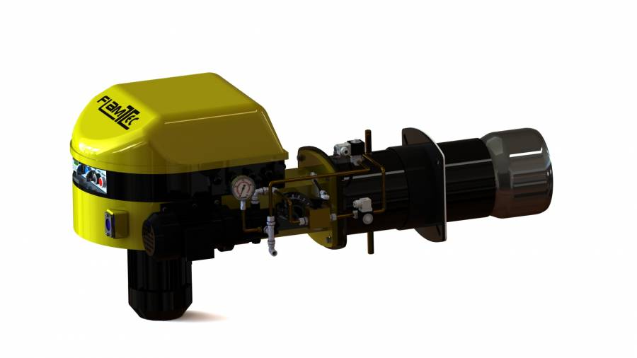 Light oil monobloc burner Two Stages
