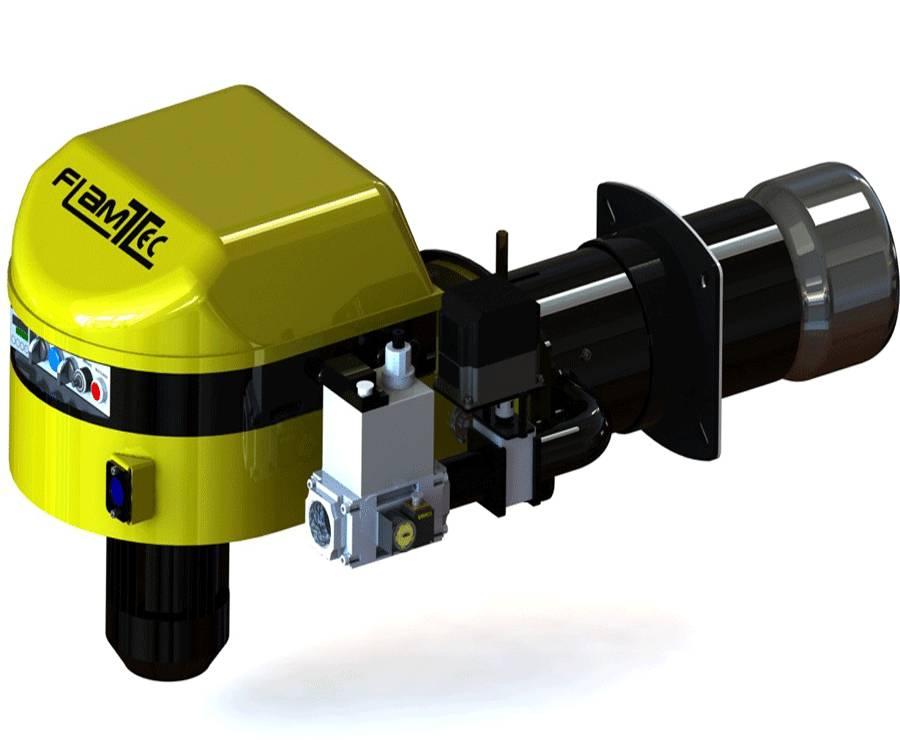 Quemador modulante monobloc de gas
