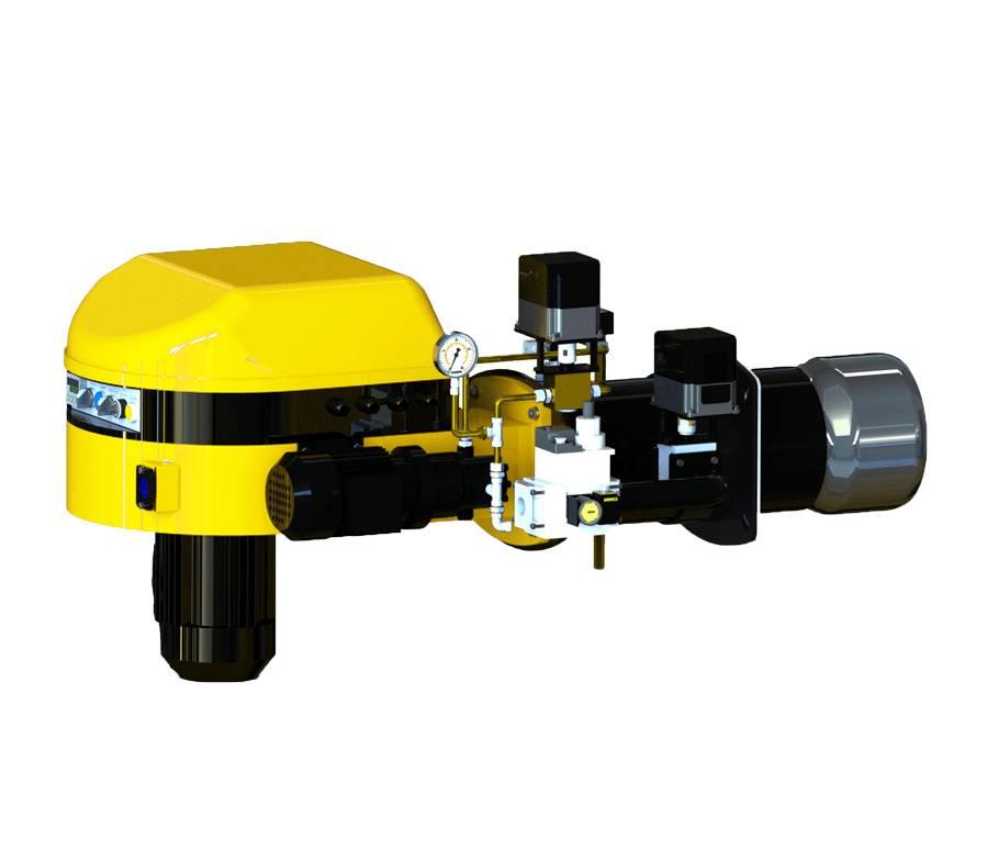 Quemador modulante monobloc mixtos gas-gasoleo