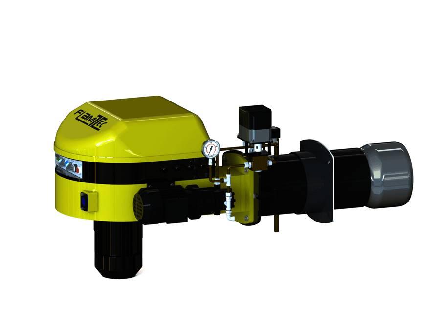 Quemadores modulantes monobloc de gasóleo