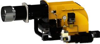 Brûleurs  monobloc progressive,électronique mixte ( gaz/ fuel lourd)