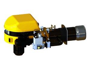 SC 8.2 GLZ Quemador de dos llamas monobloc mixtos gas-gasoleo